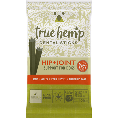 <strong>Bâtonnets dentaires <br>Hip & Joint<br>True Hemp<strong>