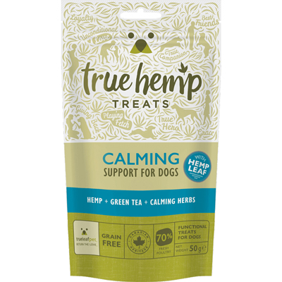<strong>Friandises <br>Calming<br>True Hemp<strong>