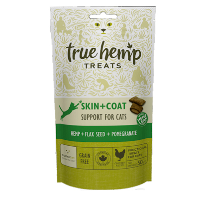 <strong>Friandises <br>Skin + Coat<br>True Hemp<strong>