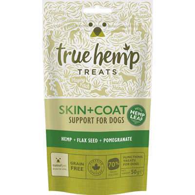 <strong>Friandises <br>Skin+Coat<br>True Hemp<strong>