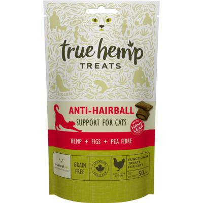 <strong>Friandises <br>Anti Hairball CAT<br>True Hemp<strong>